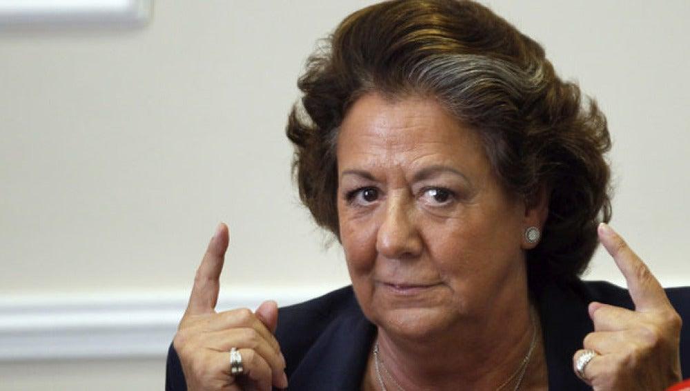 Rita Barberá suspende la Mostra de Valencia