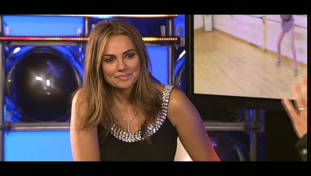 Silvia Pantoja se prepara 'Ven a bailar' de Jennifer López