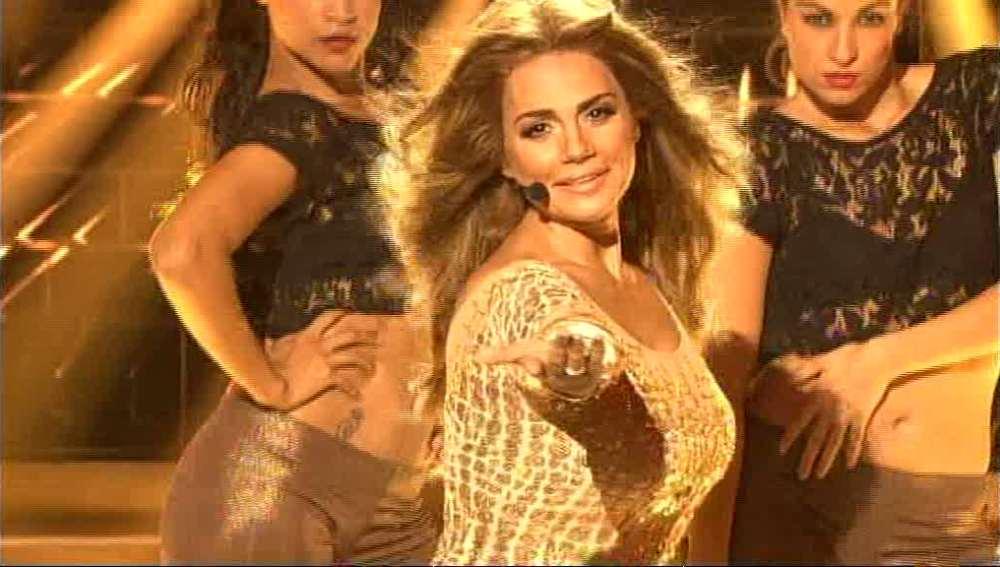 Gala 1 | Silvia Pantoja imita a Jennifer López