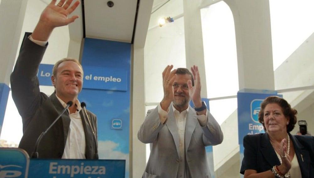 Mariano Rajoy en Valencia