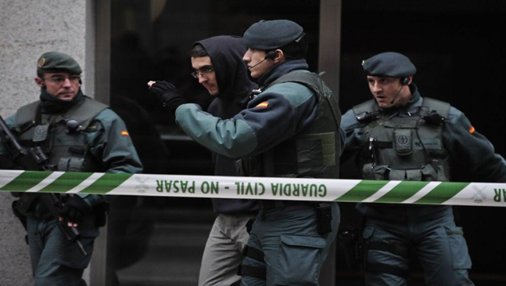 El miembro de Ekin, Iker Moreno, es detenido en una operación anti terrorista,