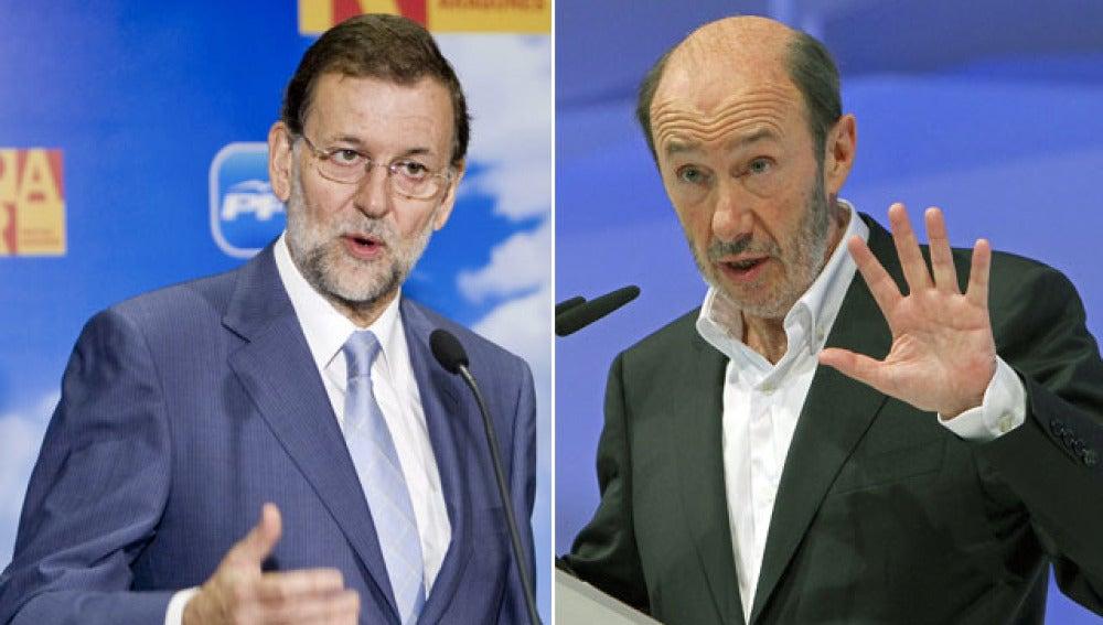 PSOE y PP afrontan la precampaña con lemas y colores parecidos