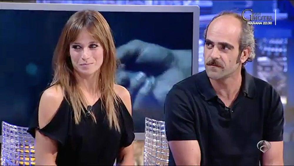 Luis Tosar y Marta Etura