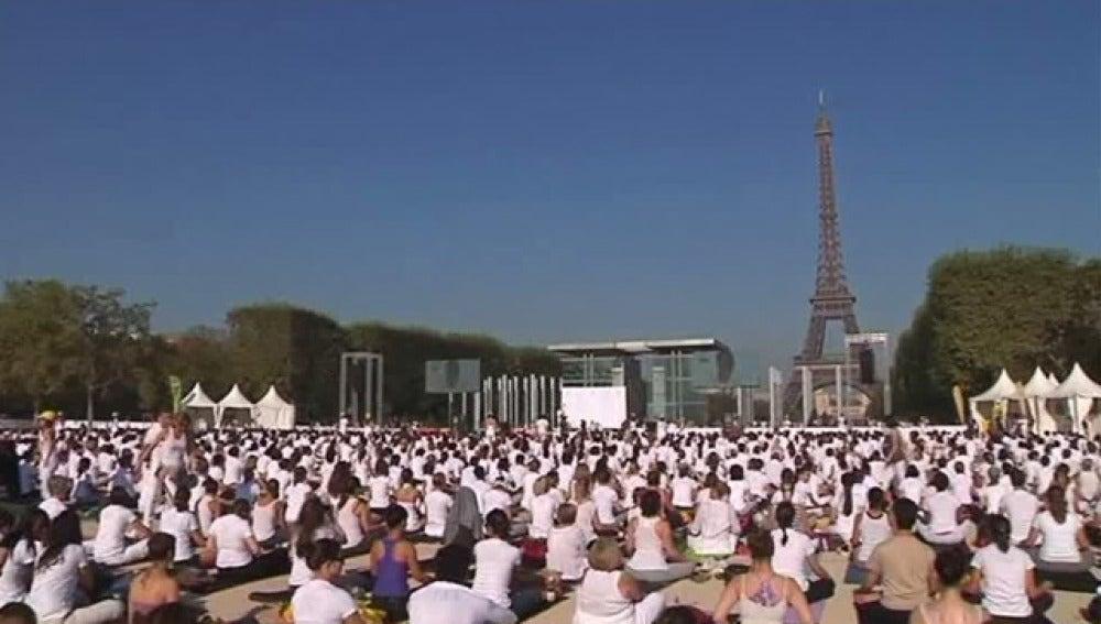 Yoga en París