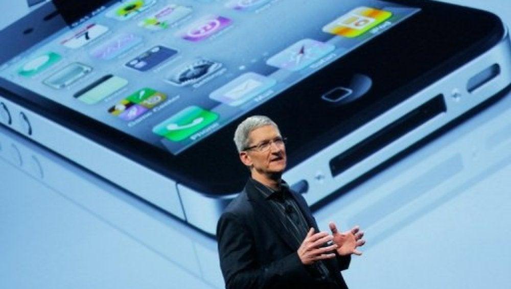 Tim Cook en la Keynote de Apple