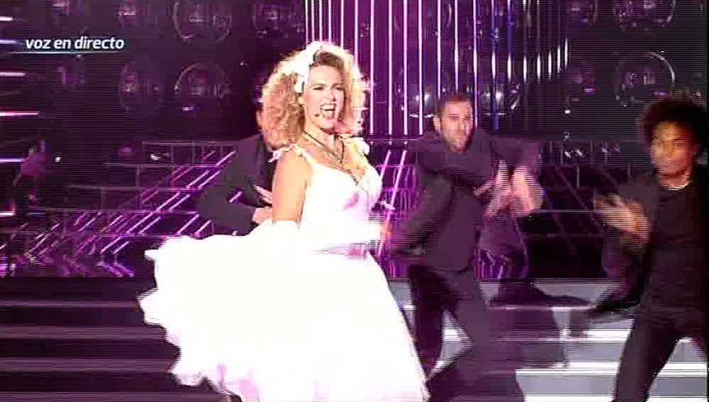 Gala 2 | Carolina canta 'Like a virgin' de Madonna