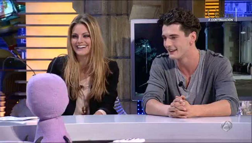 Yon gonzalez and amaia salamanca together