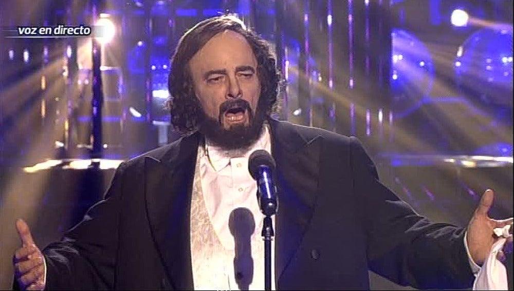 Gala 2 | Francisco imita a Pavarotti