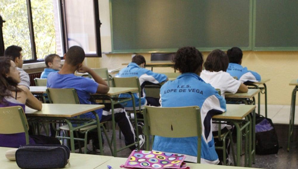 Estudiantes de la ESO