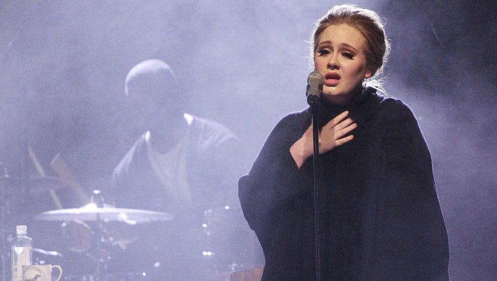 Adele arrasa en Madrid