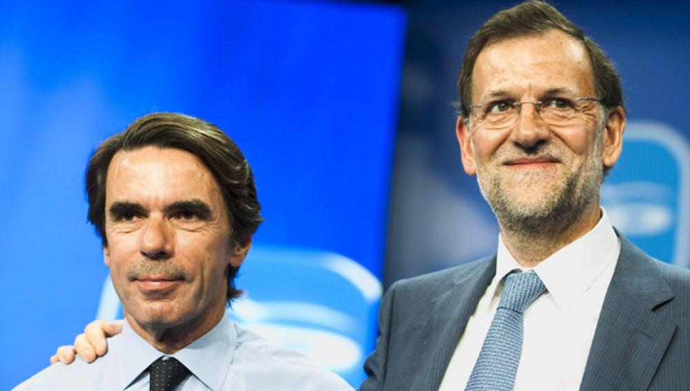 Aznar y Rajoy