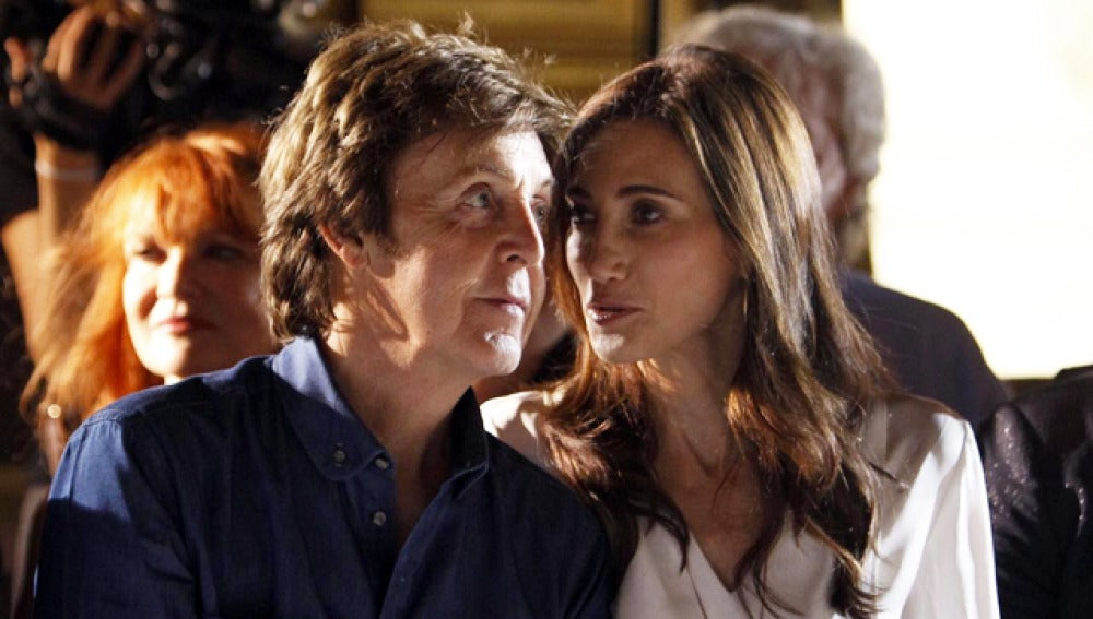 Paul McCartney y Nancy Shevell