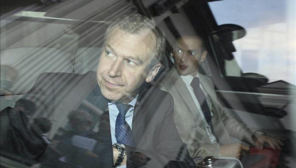 El primer ministro belga en funciones, Yves Leterme