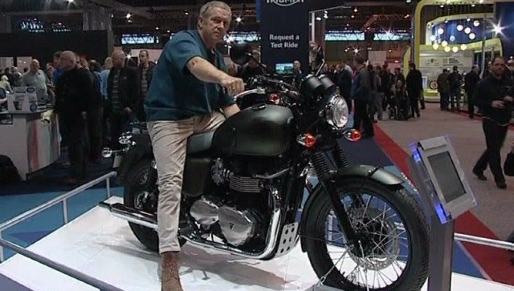Los mejores amantes de motos en el Salón de Motos de Birmingham