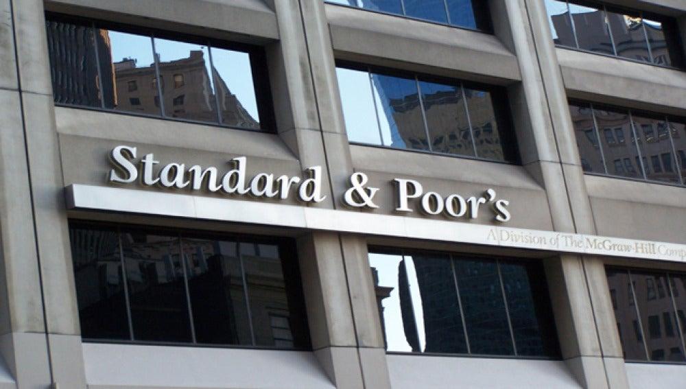 Una de las entidades de la agencia de calificación Standard & Poor's.