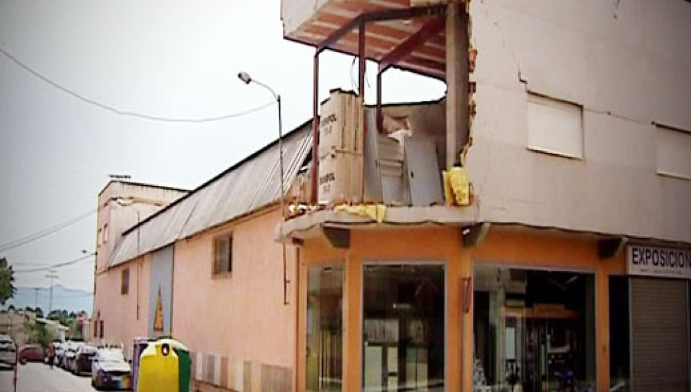 Terremoto Lorca 5 meses después