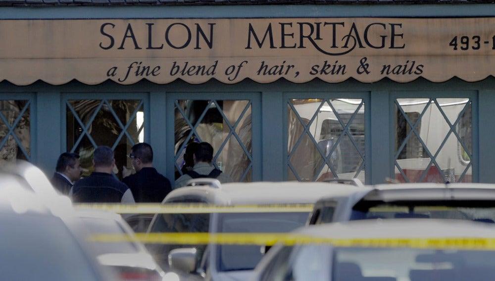 El Salon Meritage, lugar donde se ha producido el tiroteo