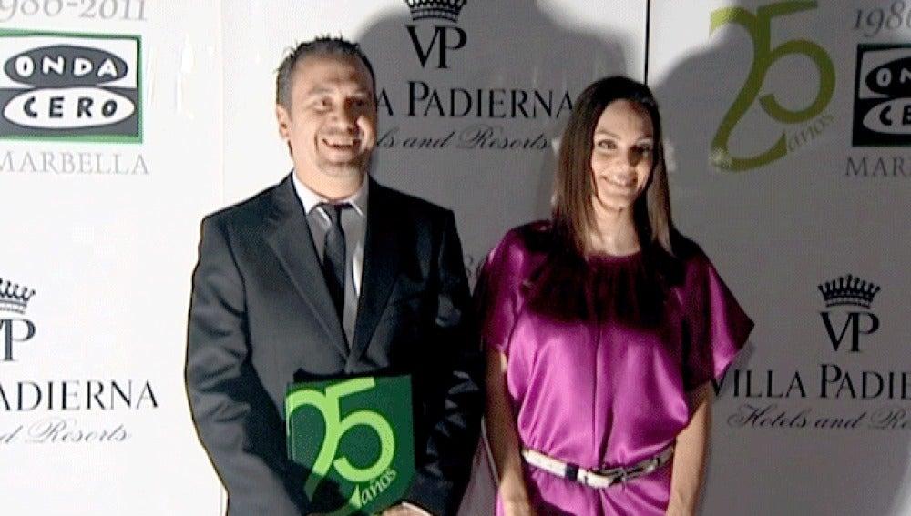 Mónica Carrillo y Roberto Brasero