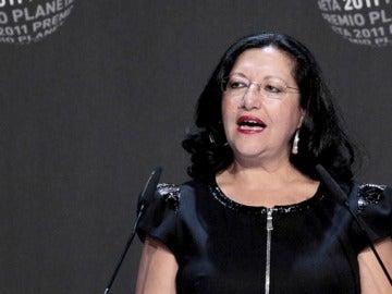 Inmaculada Chacón, finalista del Premio Planeta