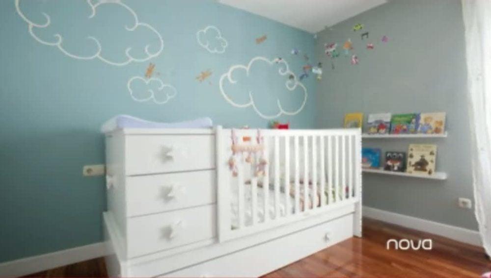 Más Tarde, Cuando Crezca El Niño, Será Un Completo Dormitorio Infantil Con  Cama Mesilla Y ...