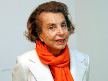 La multimillonaria Liliane Bettencourt