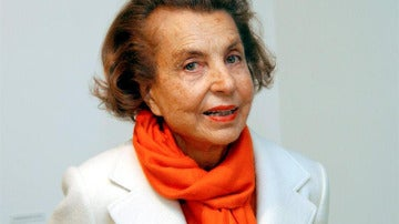 La multimillonaria Liliane Bettencourt