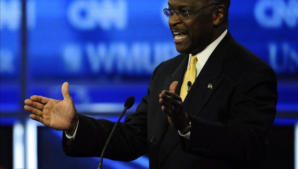 Encuesta coloca a Cain primero por la candidatura presidencial republicana