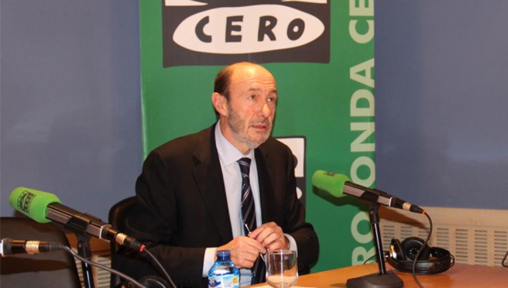Alfredo Pérez Rubalcaba en Onda Cero
