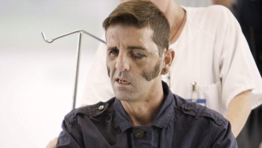 Juan José Padilla tras salir del hospital