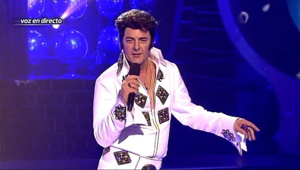 Gala 4 | Actuación Francisco imitando a Elvis