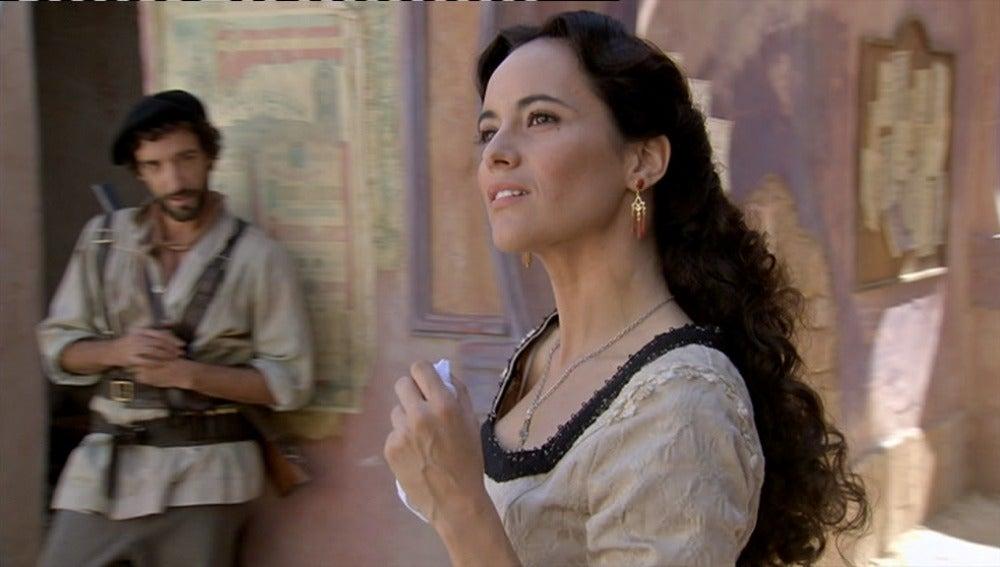 Teresa llega a Arazana