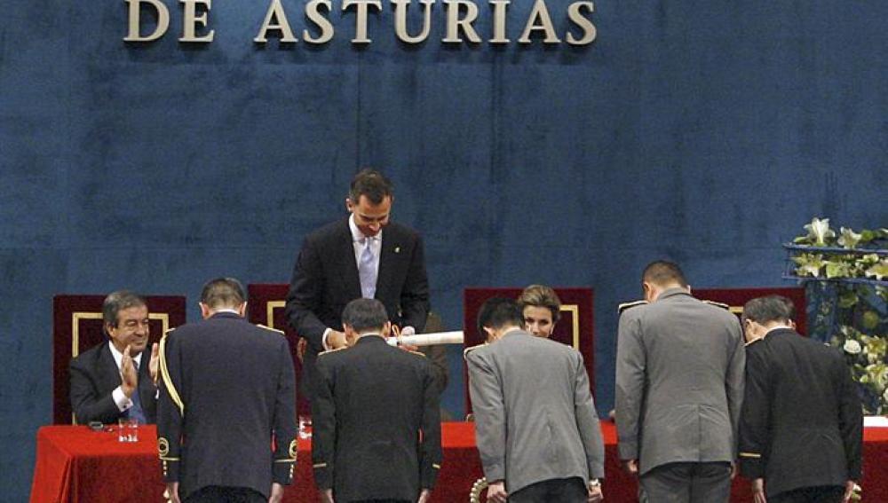 """Los """"Héroes de Fukushima"""", premio Príncipe de Asturias"""