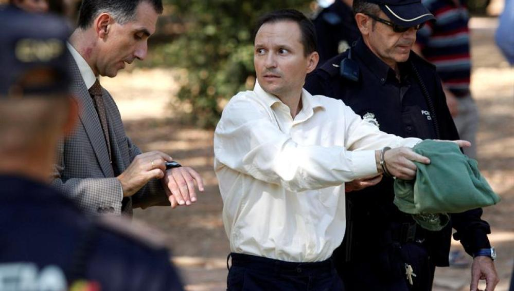 Jose Bretón , padre de los dos niños de 2 y 6 años desaparecidos el 8 de octubre en Córdoba