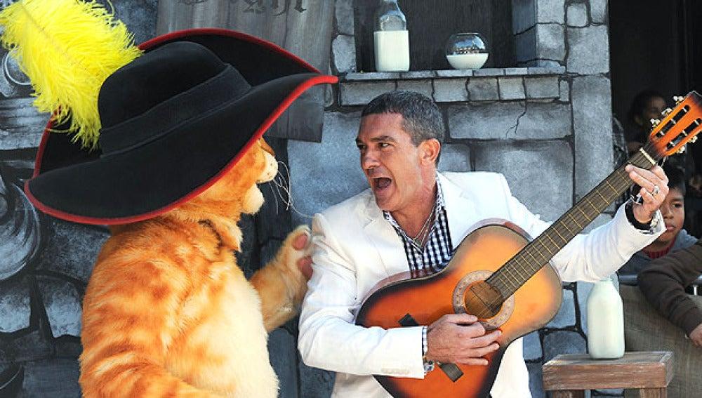 Premier de 'El gato con Botas' en LA