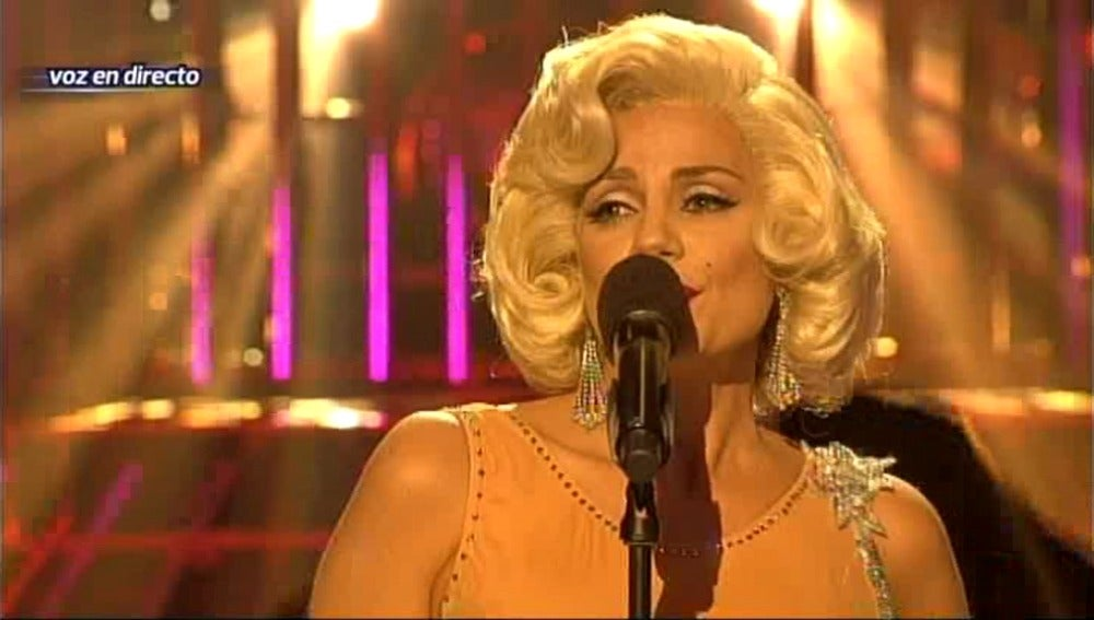 GALA 5 I Sylvia Pantoja interpreta a Marilyn Monroe