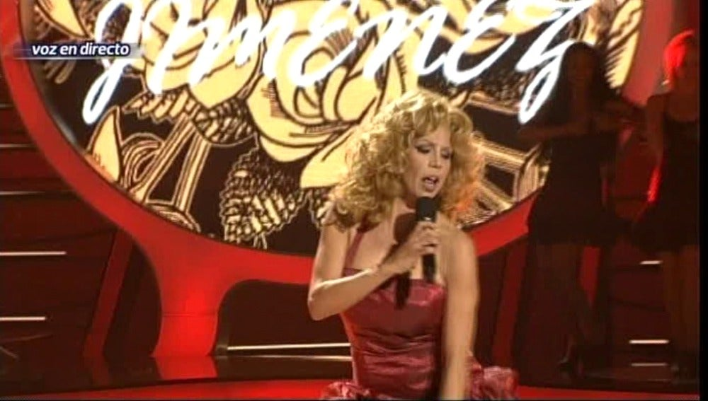 Toñi Salazar interpreta a María Jiménez