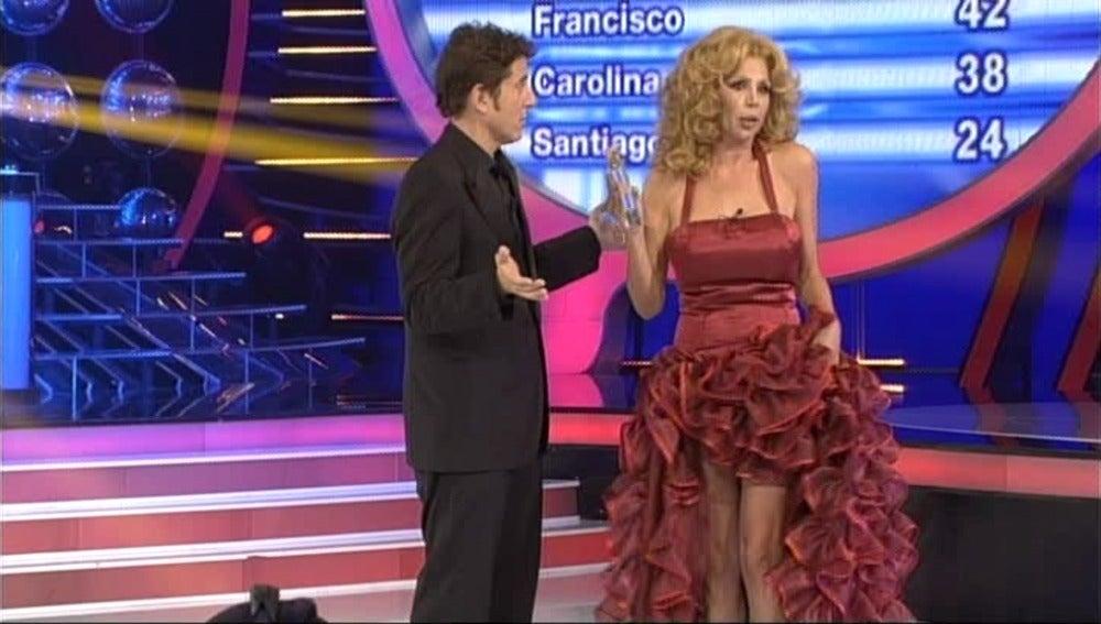 Toñi Salazar, ganadora de la gala 5