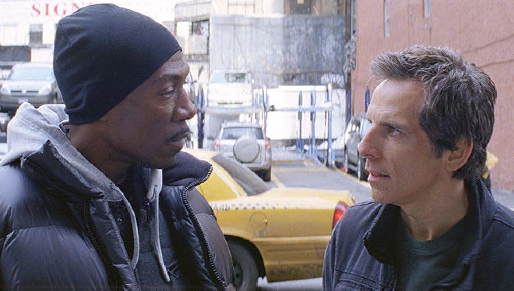 Ben Stiller y Eddie Murphy
