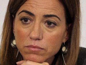 Carme Chacón, ministra de Defensa del Gobierno de Zapatero.