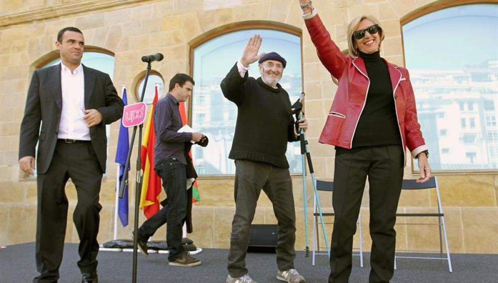 Acto de UPyD en San Sebastián