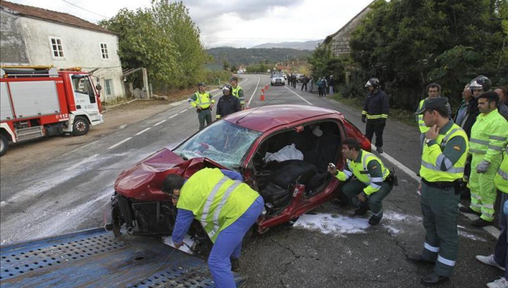 Fallecen ocho personas en las carreteras durante el puente de Todos los Santos
