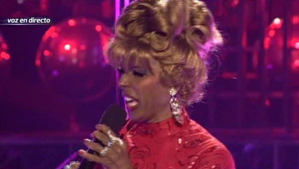 Gala 6 | Toñi Salazar imita a Celia Cruz