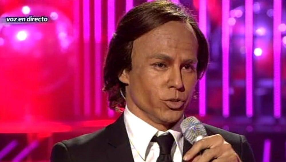 Gala 6   Julio Iglesias Jr. imita a Julio Iglesias