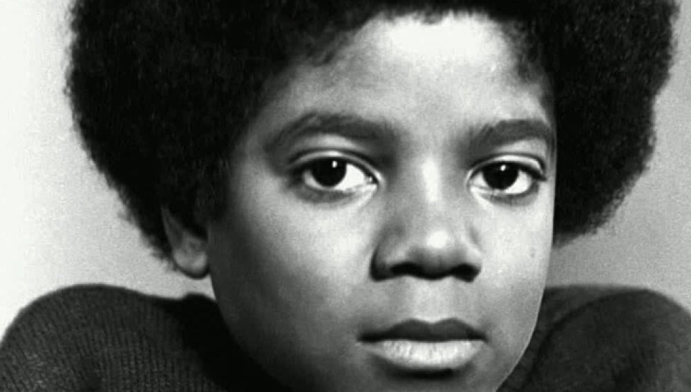 Michael Jackson en su infancia