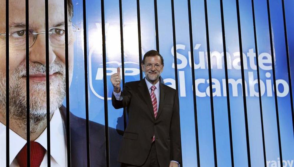 Rajoy inaugura la campaña electoral