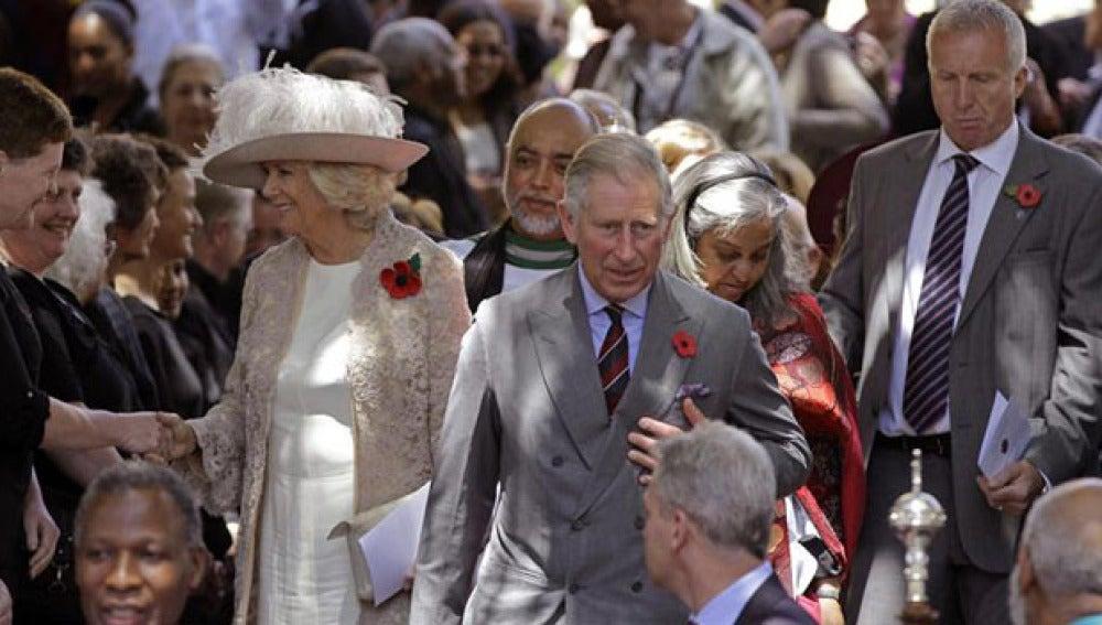 Visita del Príncipe Carlos a Sudáfrica