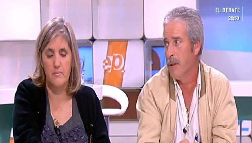 Los padres de Cristina, menor asesinada en Seseña