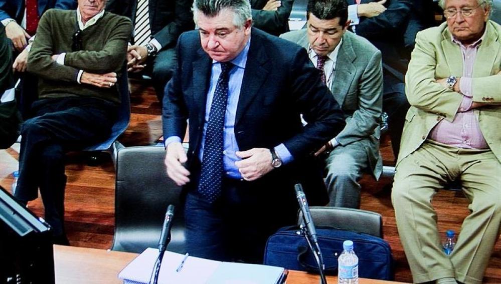 Juan Antonio Roca durante el juicio