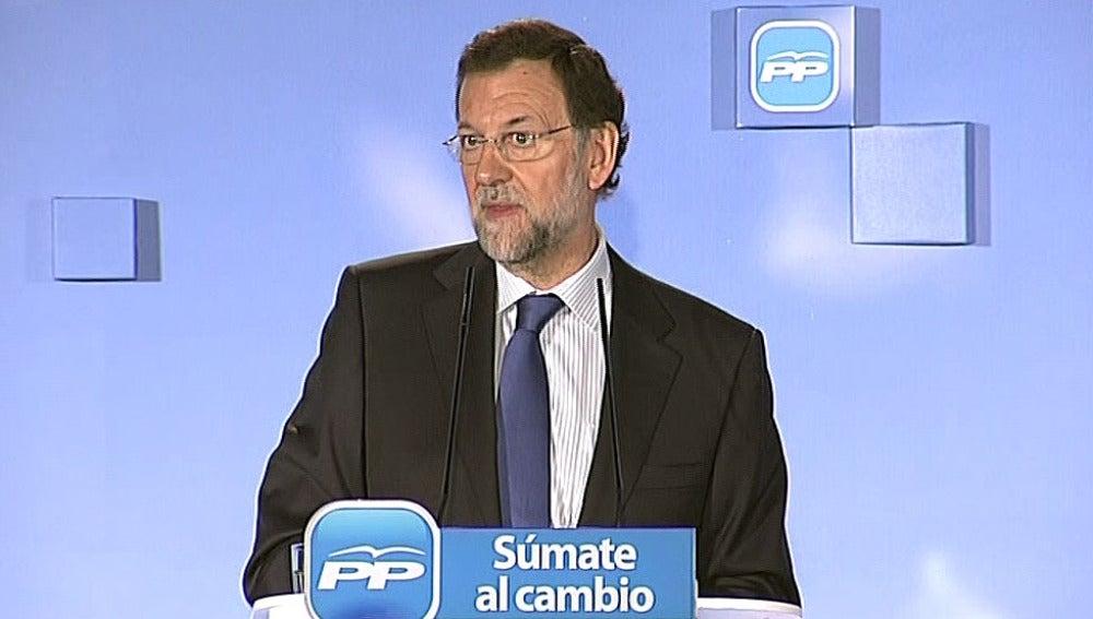 Mariano Rajoy, en Melilla