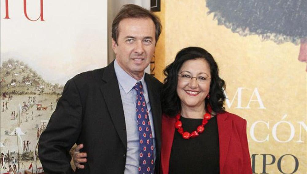 Javier Moro e Inma Chacón, ganador y finalista del Premio Planeta